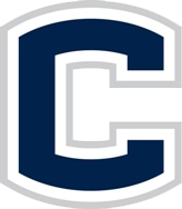 English: A letter 'C' for UConn.