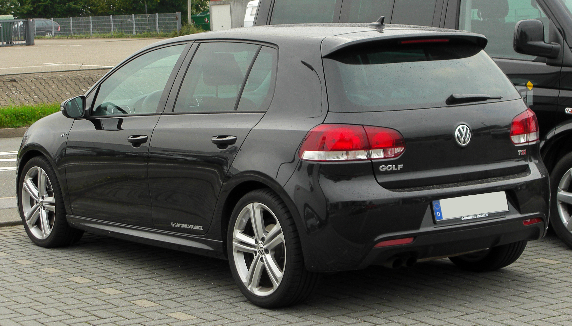 file vw golf vi 1 4 tsi r line rear wikimedia commons. Black Bedroom Furniture Sets. Home Design Ideas