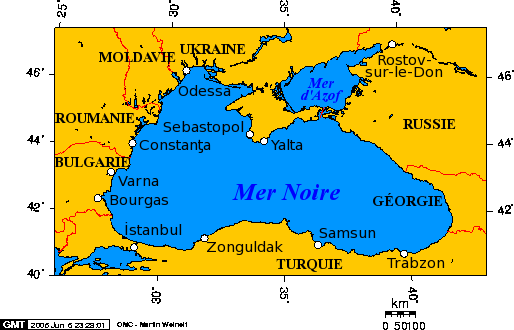 Ukraine Mer Noire Ville