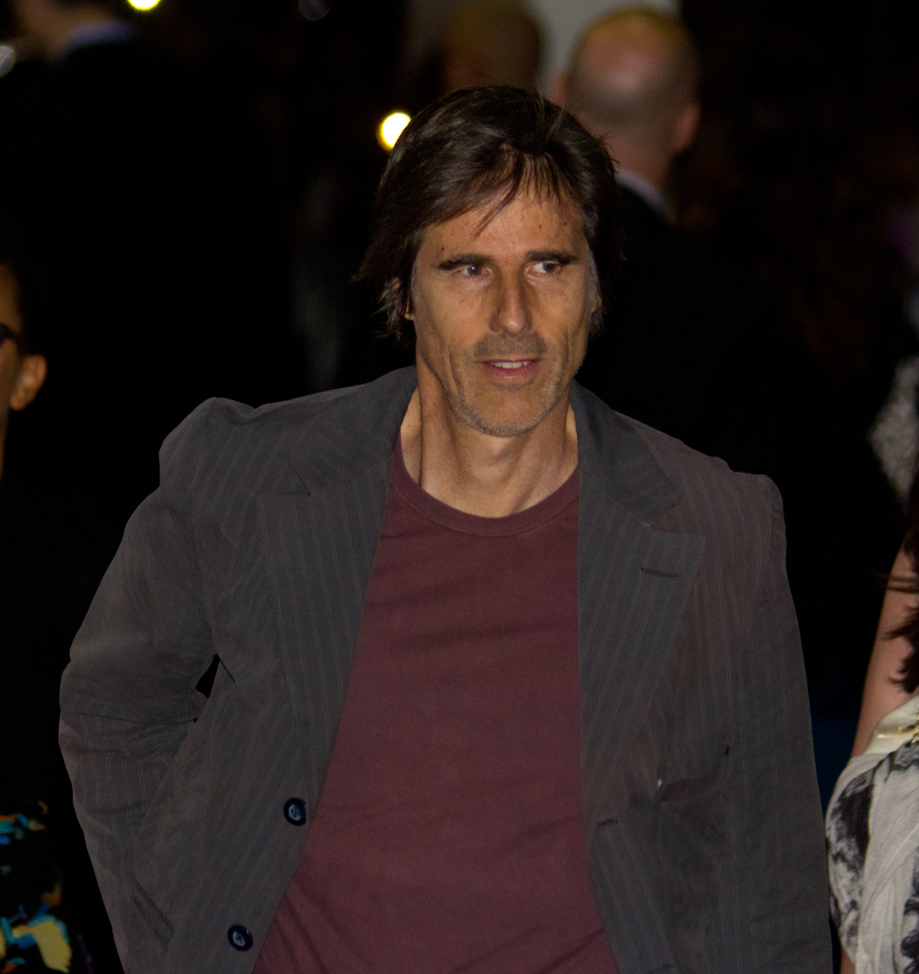 Salles at the 2012 [[Toronto International Film Festival]] showing of ''[[On the Road (2011 film)|On the Road]]''