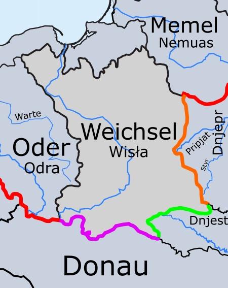 Welche Flüsse Münden In Die Ostsee