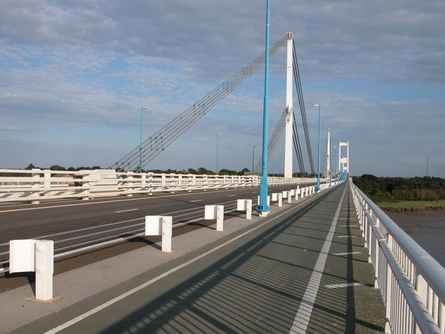 Wye Bridge and Severn Bridge M48