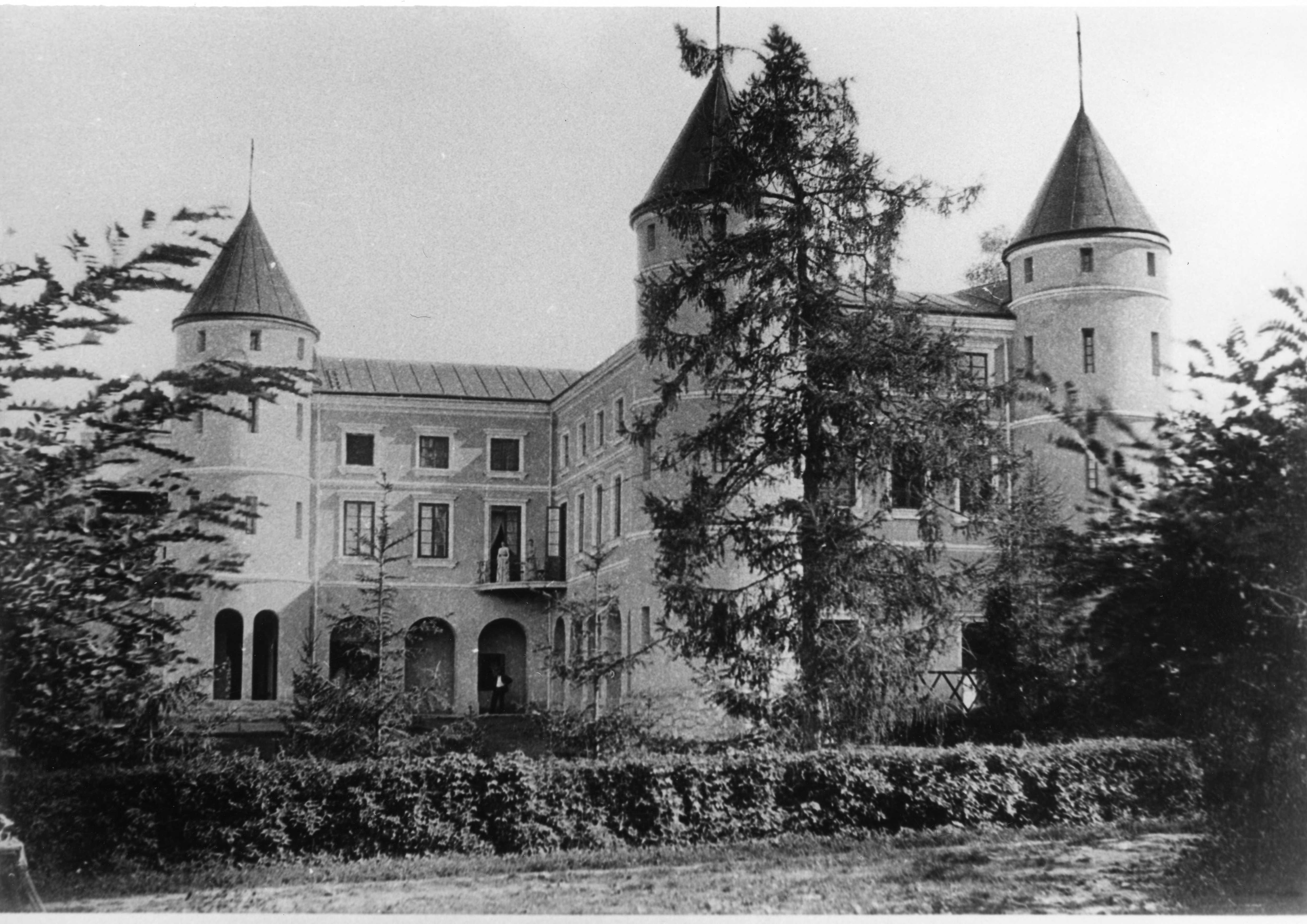 Palace in Wzdow, property of Ostaszewski family