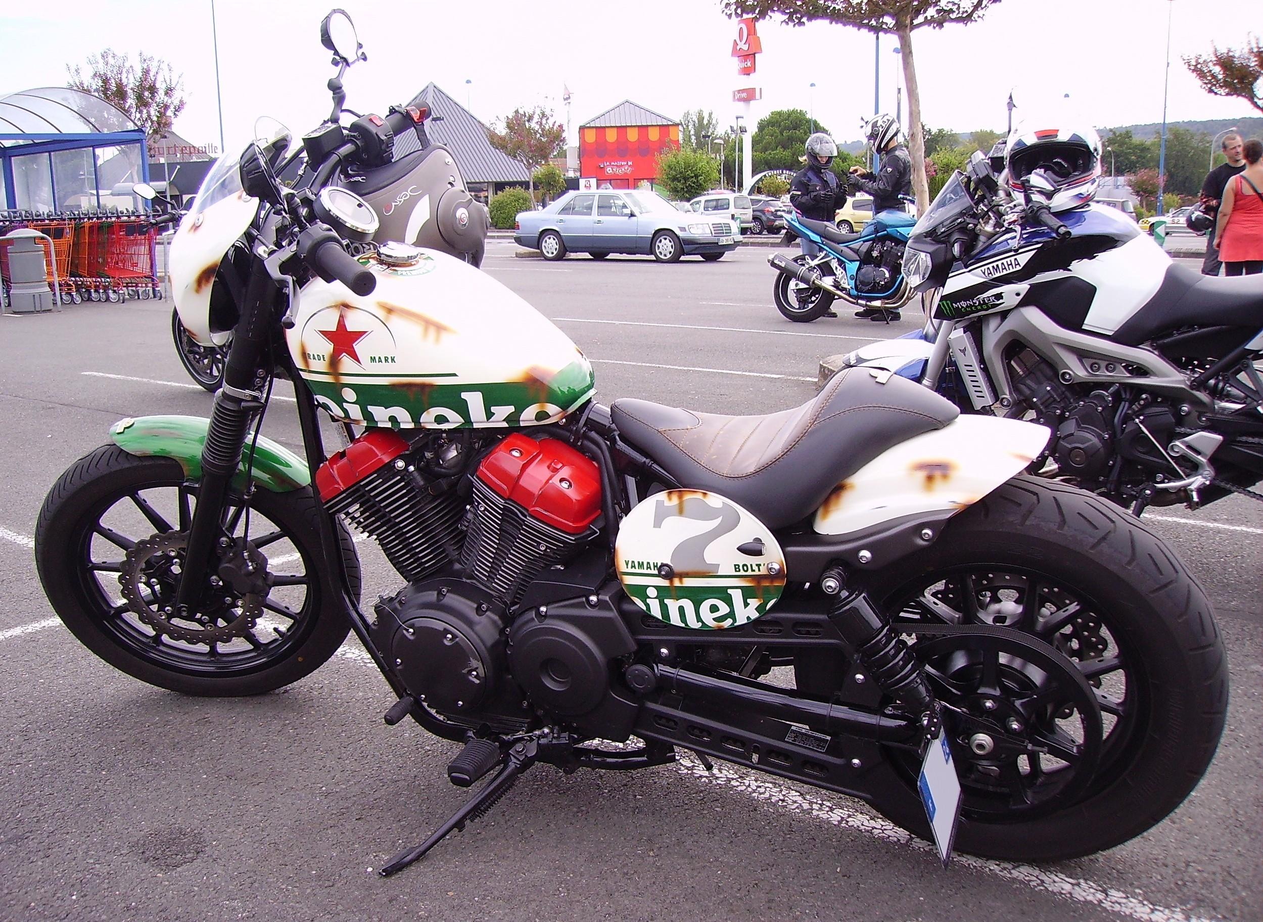 Yamaha R Engine Size
