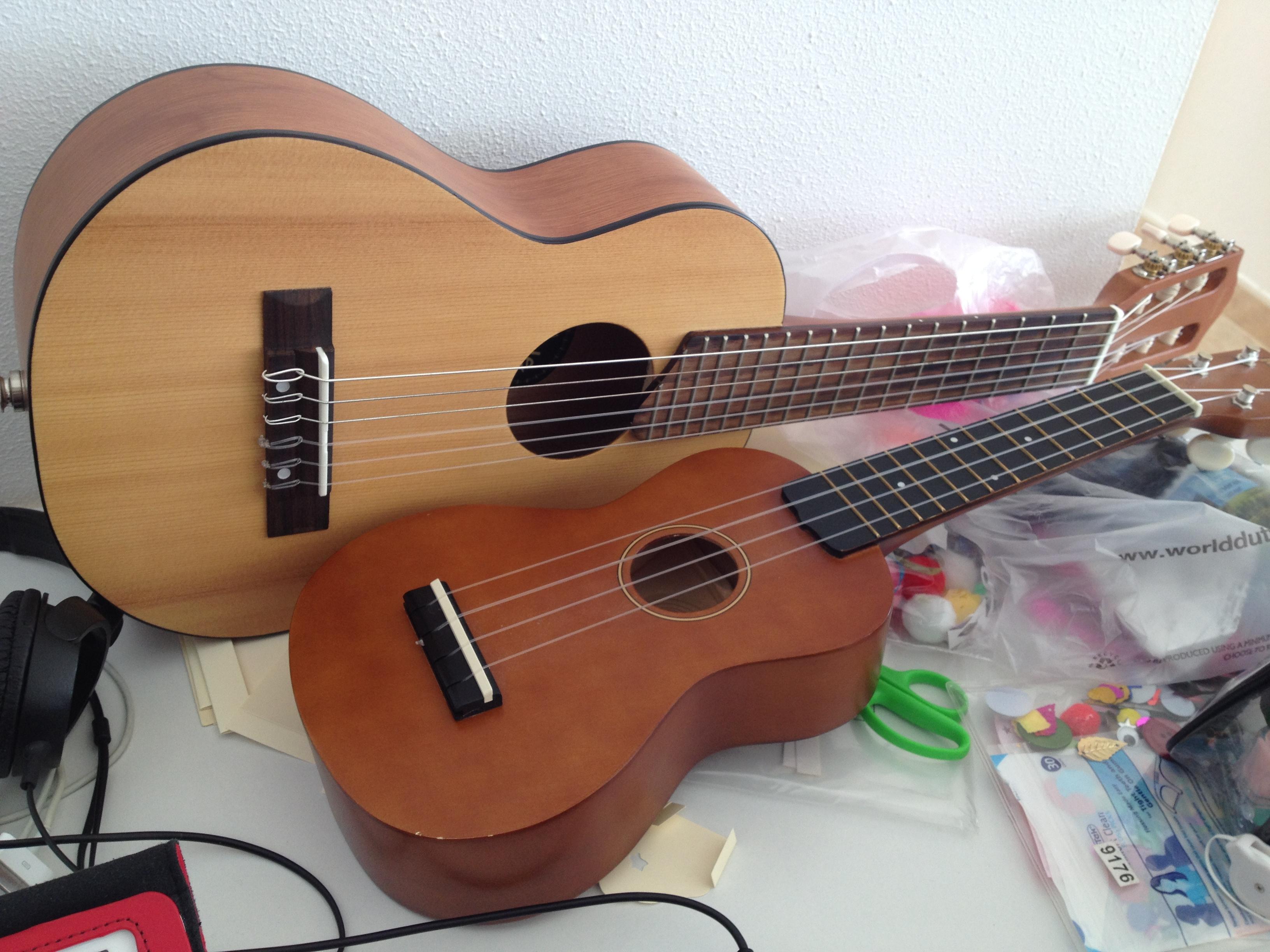 file yamaha gl 1 guitarlele and mahalo u50 soprano ukulele 2014