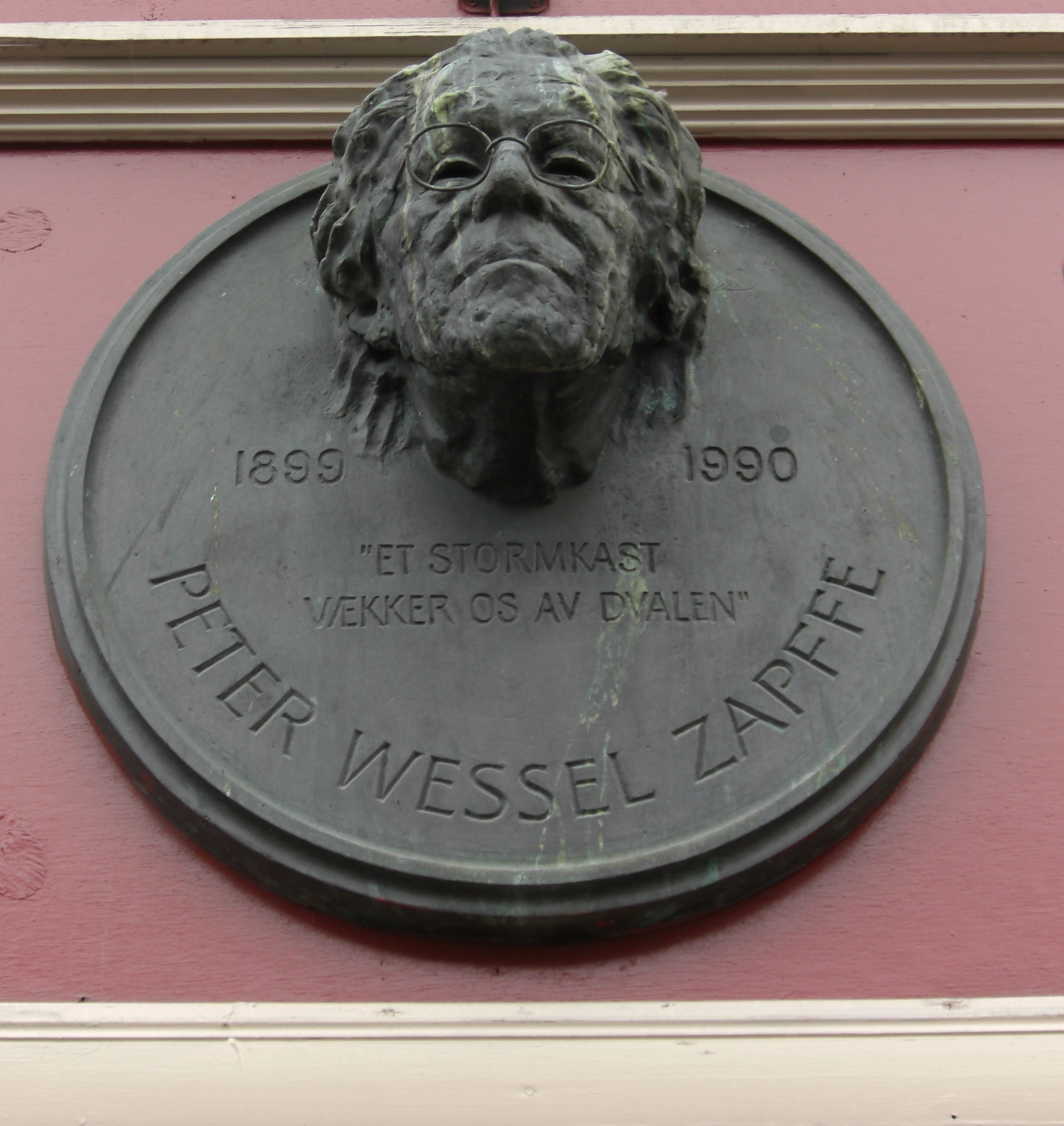 Picture of an author: Peter Wessel Zapffe