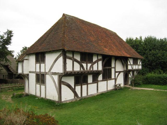 File Bayleaf Wealden Hall House At Weald And Downland Museum Singleton West Sussex