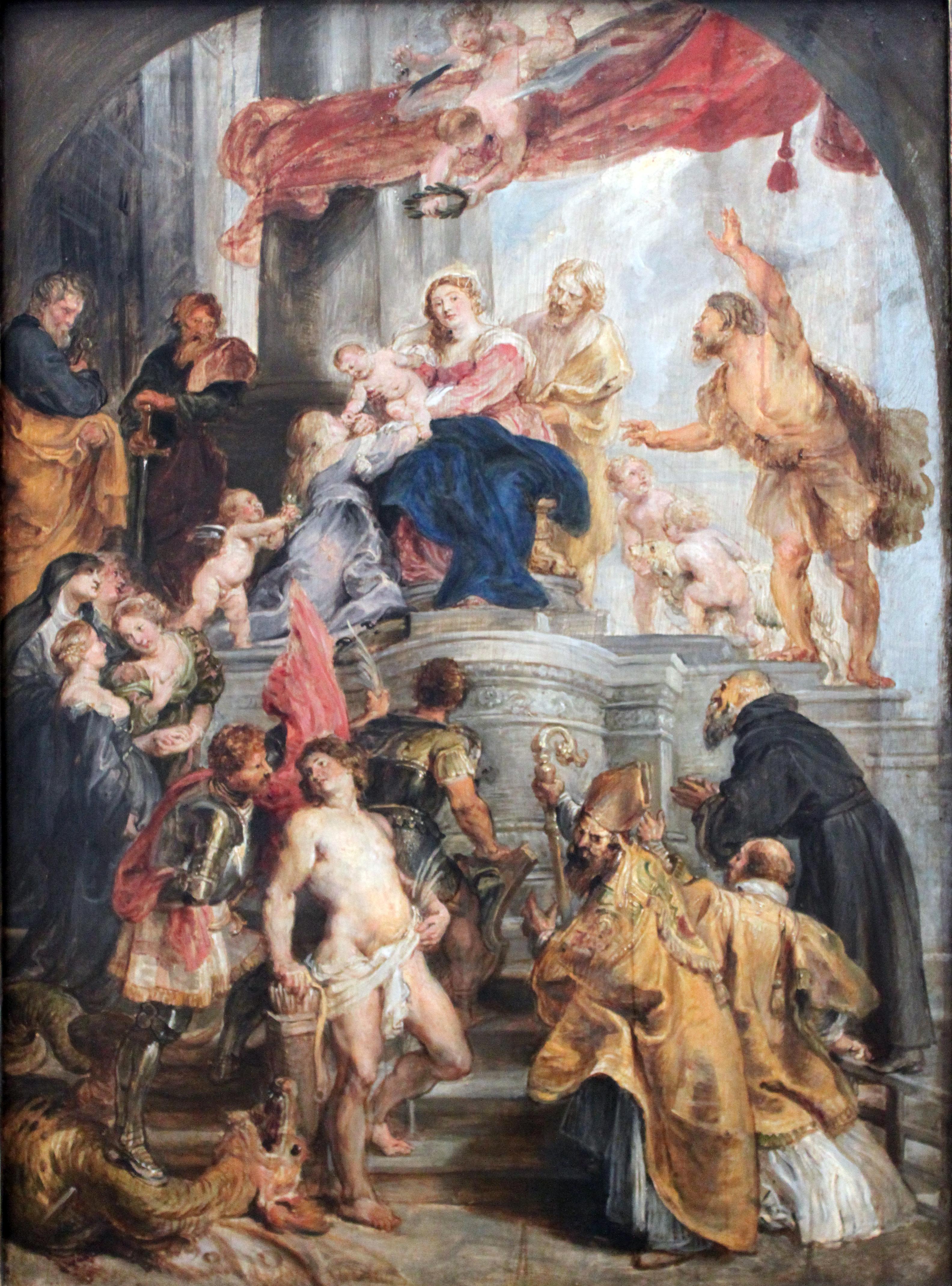 File:1627 Rubens Maria mit Kind und Heiligen anagoria.JPG