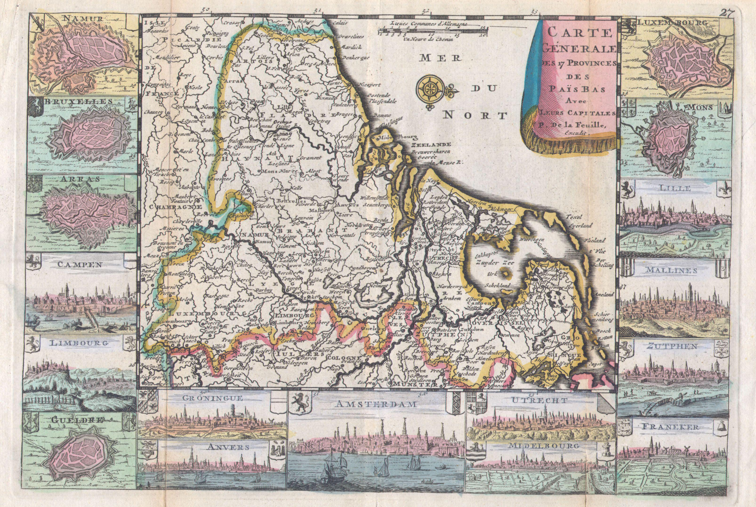 file1710 de la feuille map of the netherlands belgium and luxembourg geographicus