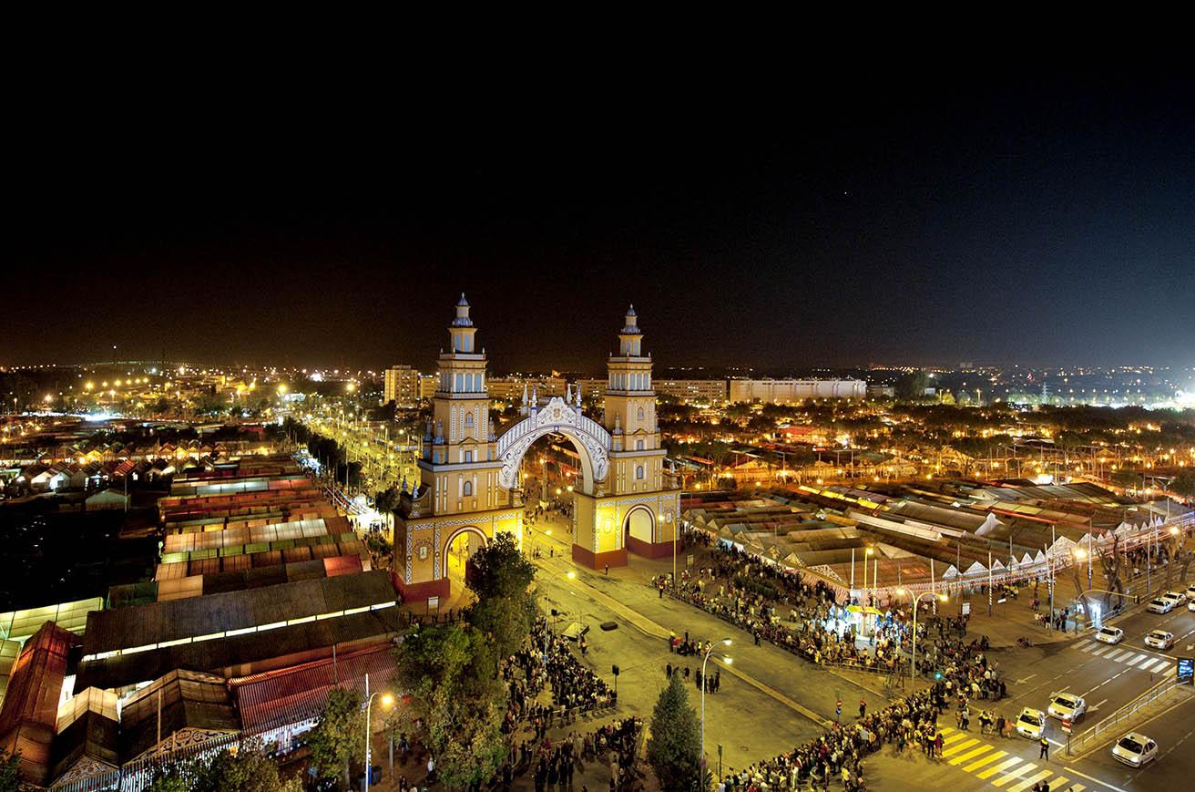 Depiction of Feria de Abril