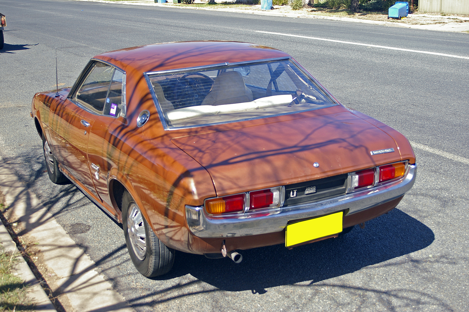 File 1975 Toyota Celica Lt 1600 Automatic Rear View Jpg