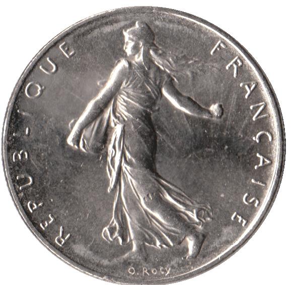 Pièce de 1 franc Semeuse (1960) — Wikipédia