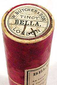 Old Homeopathic belladona remedy