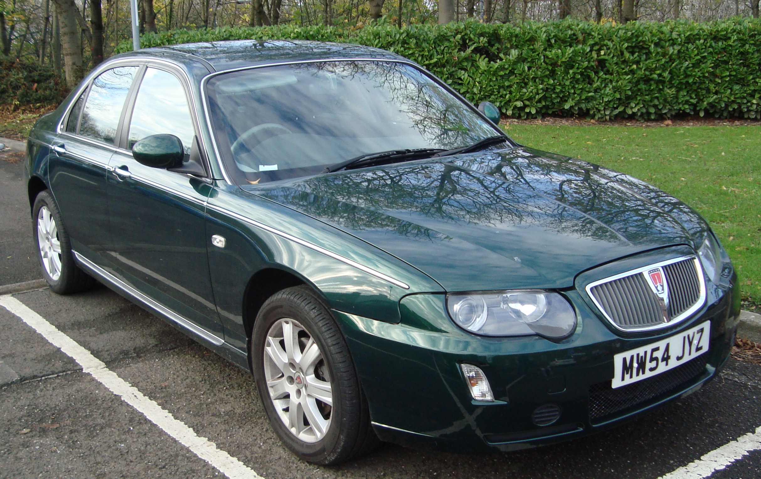 file 2005 rover 75 1 8t connoisseur 15562252077 jpg wikimedia commons. Black Bedroom Furniture Sets. Home Design Ideas