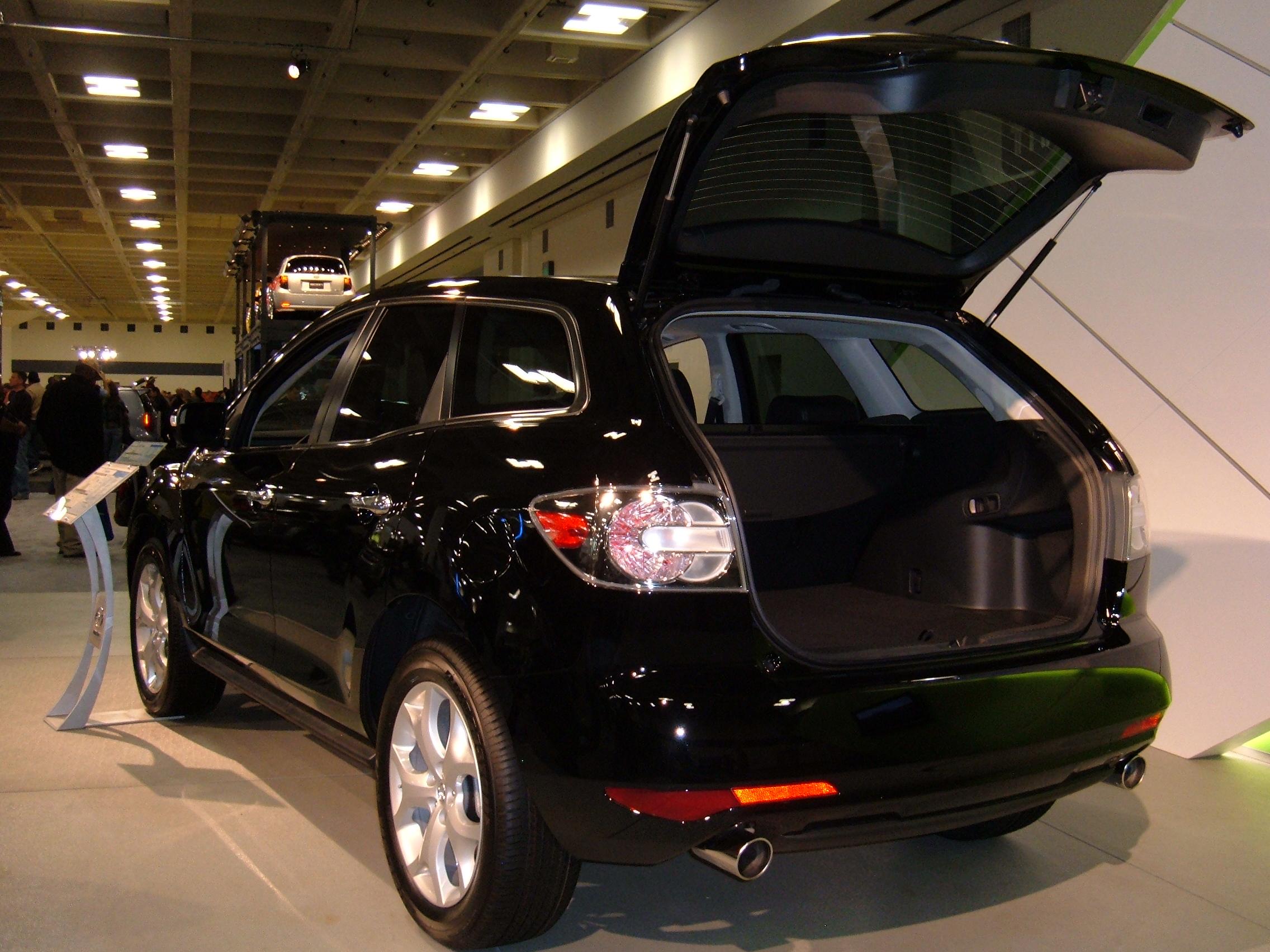 File 2010 Black Mazda Cx 7 Rear Jpg Wikimedia Commons