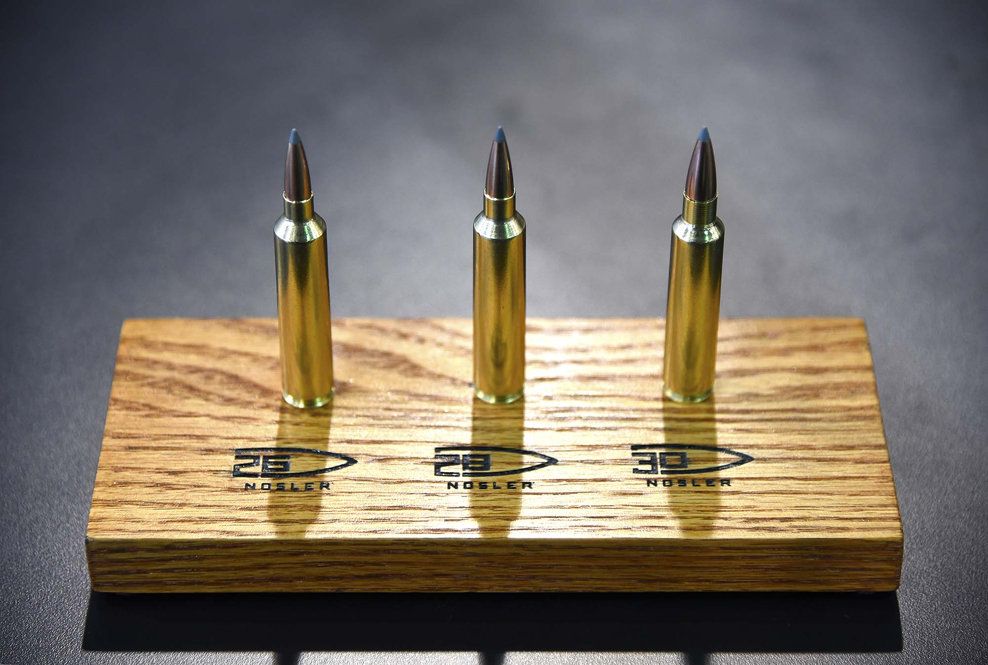 Bullet Size Comparison Chart: Nosler proprietary cartridges - Wikipedia,Chart