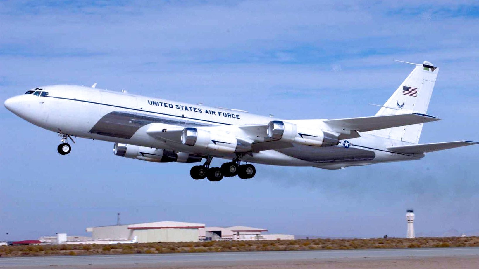 File:412th Flight Test Squadron - C-135C Speckled Trout 61-2669.