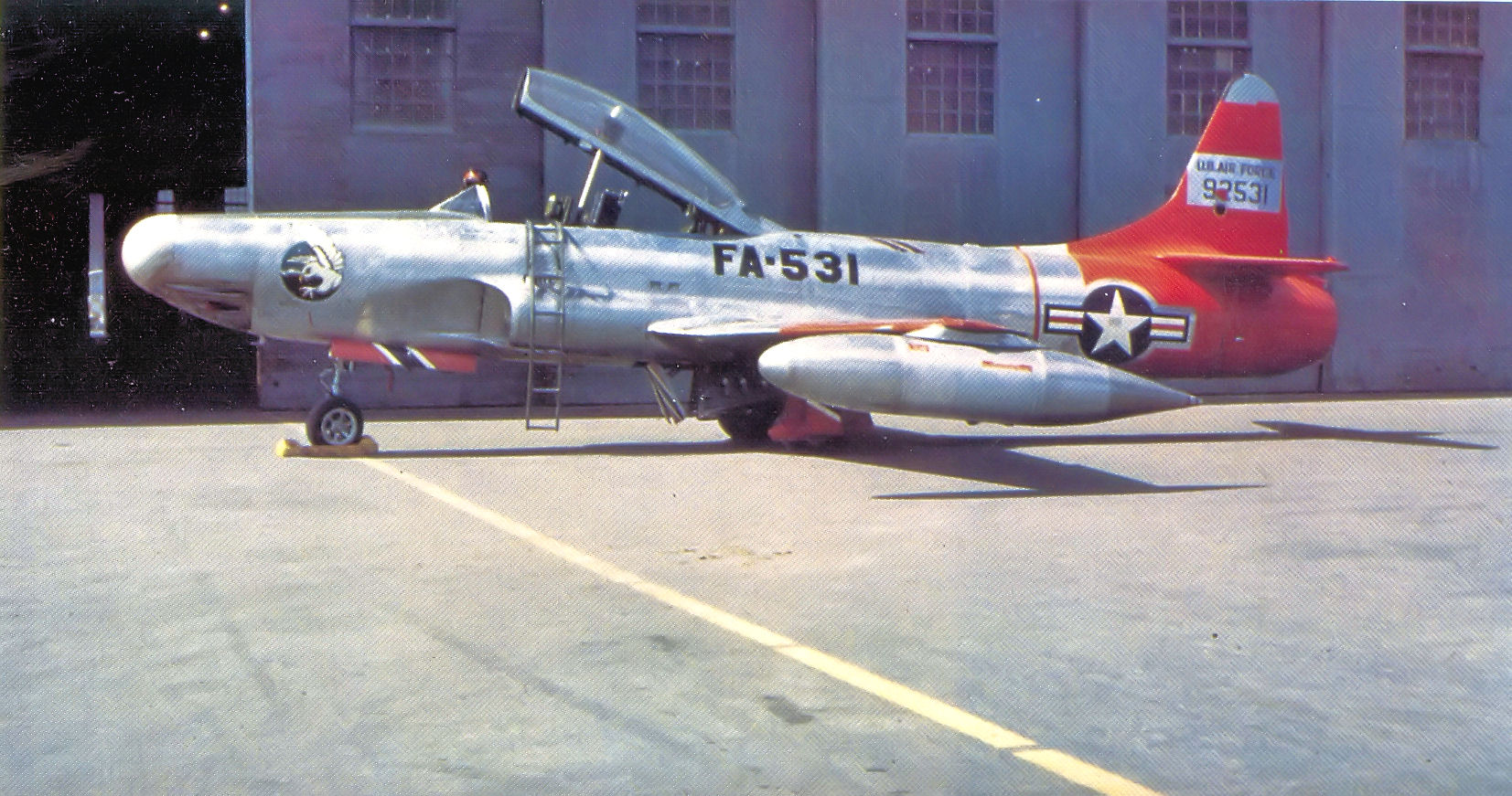 File:449th Fighter-Interceptor Squadron Lockheed F-94A-5-LO 49