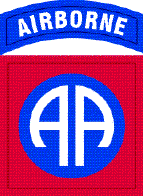 82nd Airborne Division shoulder insignia