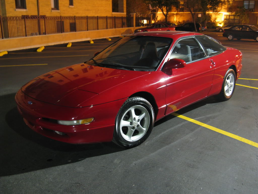 ford gt probe    ford cars