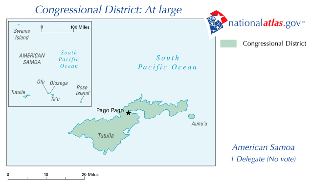 United States House of Representatives election in American Samoa