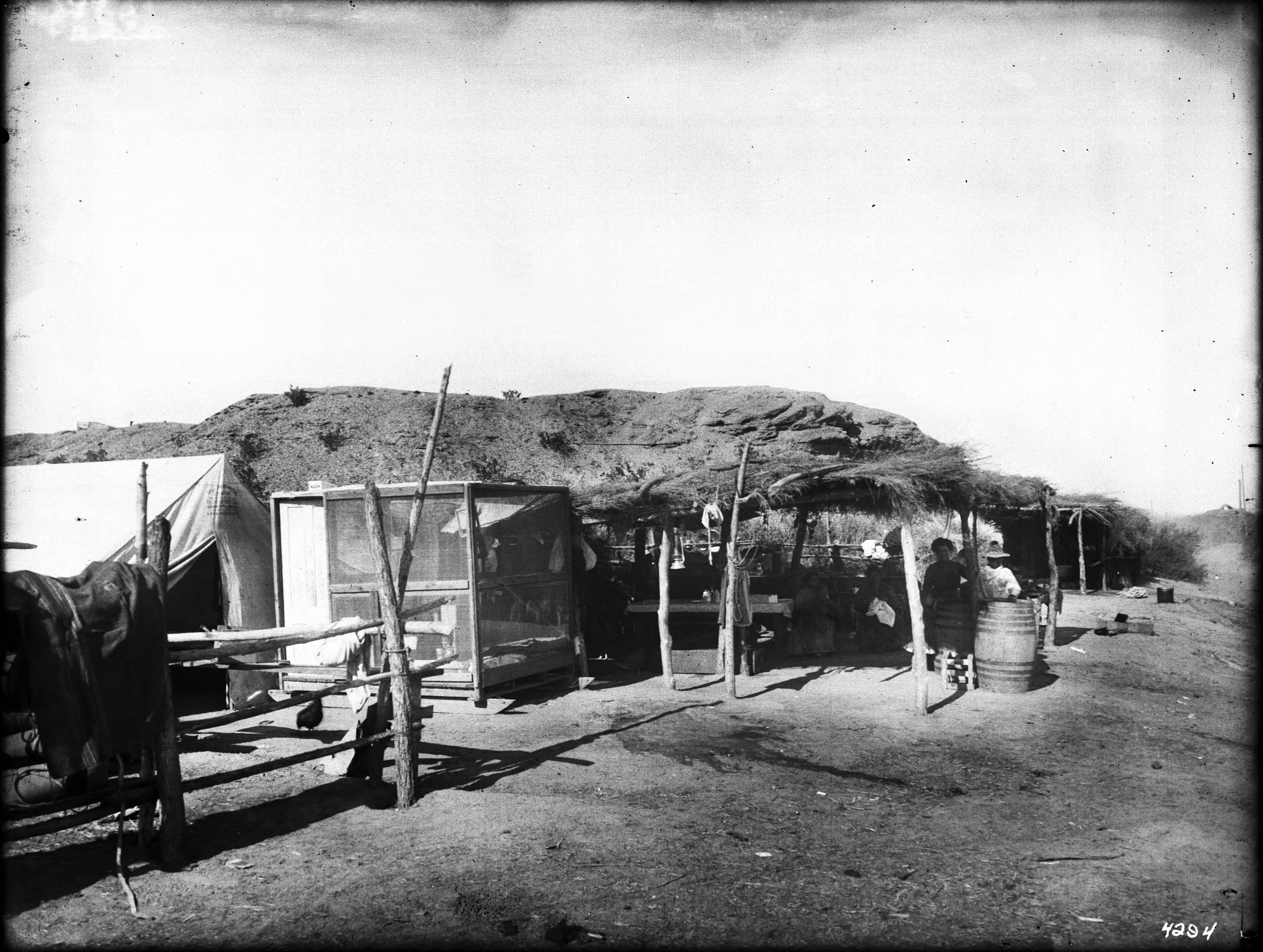 File A Desert Dwelling In Imperial Valley California Ca