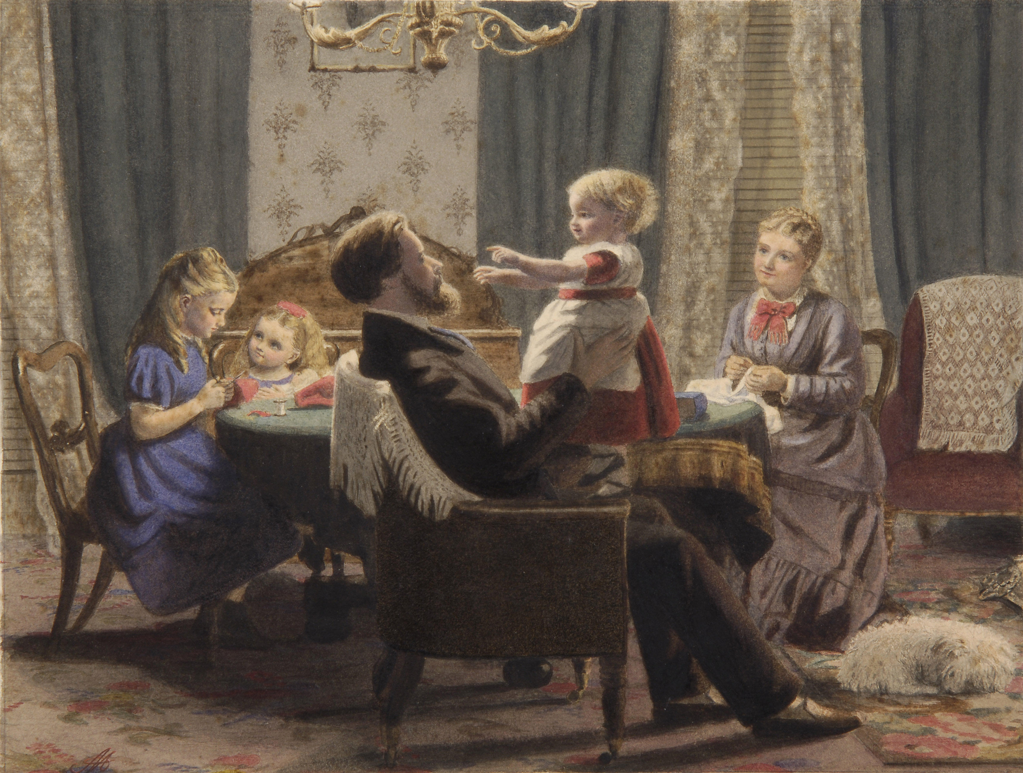 Famous Art Family Paintings Huffington Post