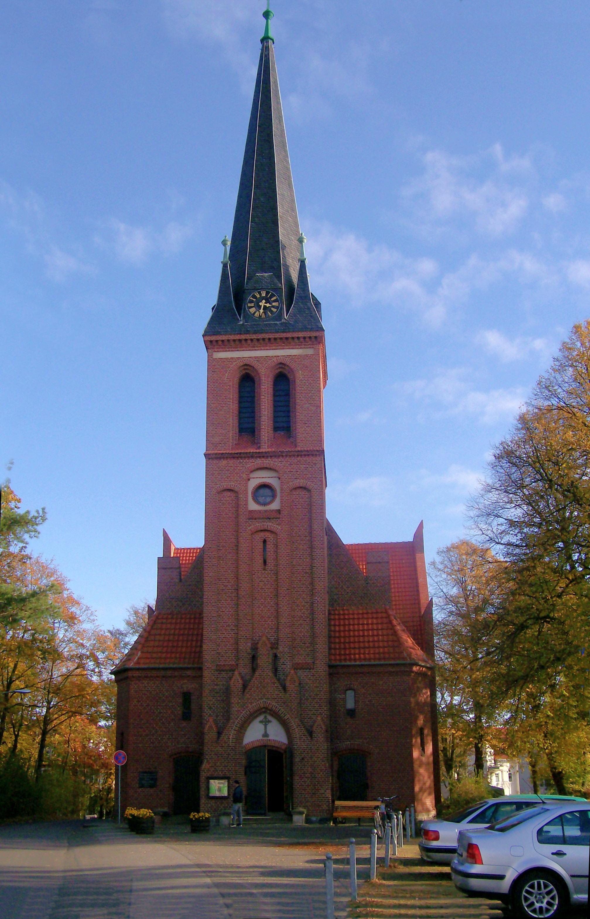 Ahlbecker Kirche - Wik...