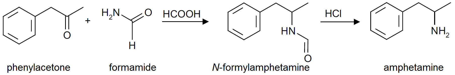 systhesis amphetamine Synthesis of 13c-labeled codeine (2), morphine (3), heroin (4), 6-  internal  standards for the determination of amphetamines in biological.