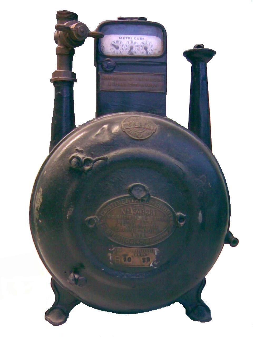Contatore del gas wikipedia for Taroccare contatore gas