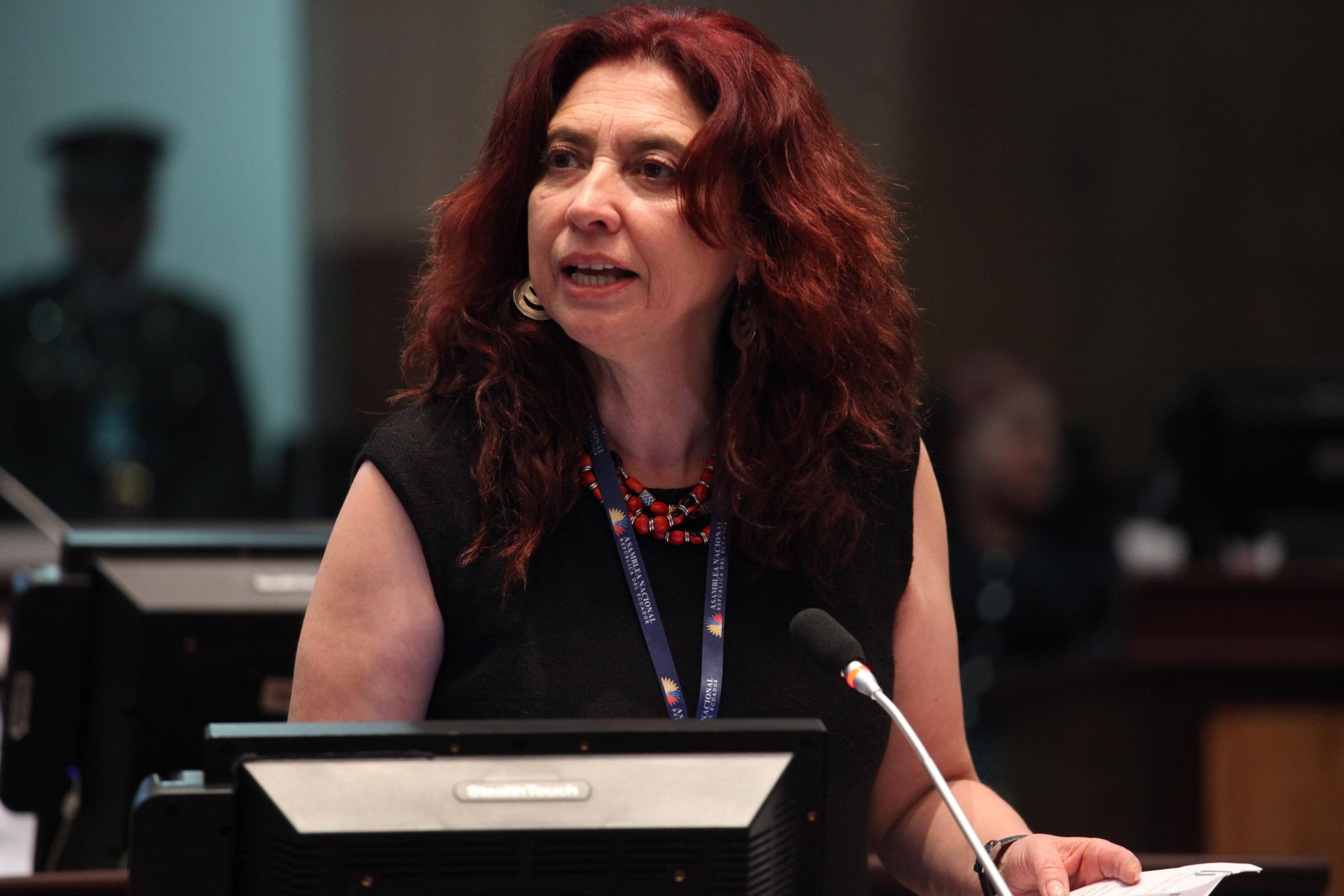 File:Asambleísta María Augusta Calle en su intervención en