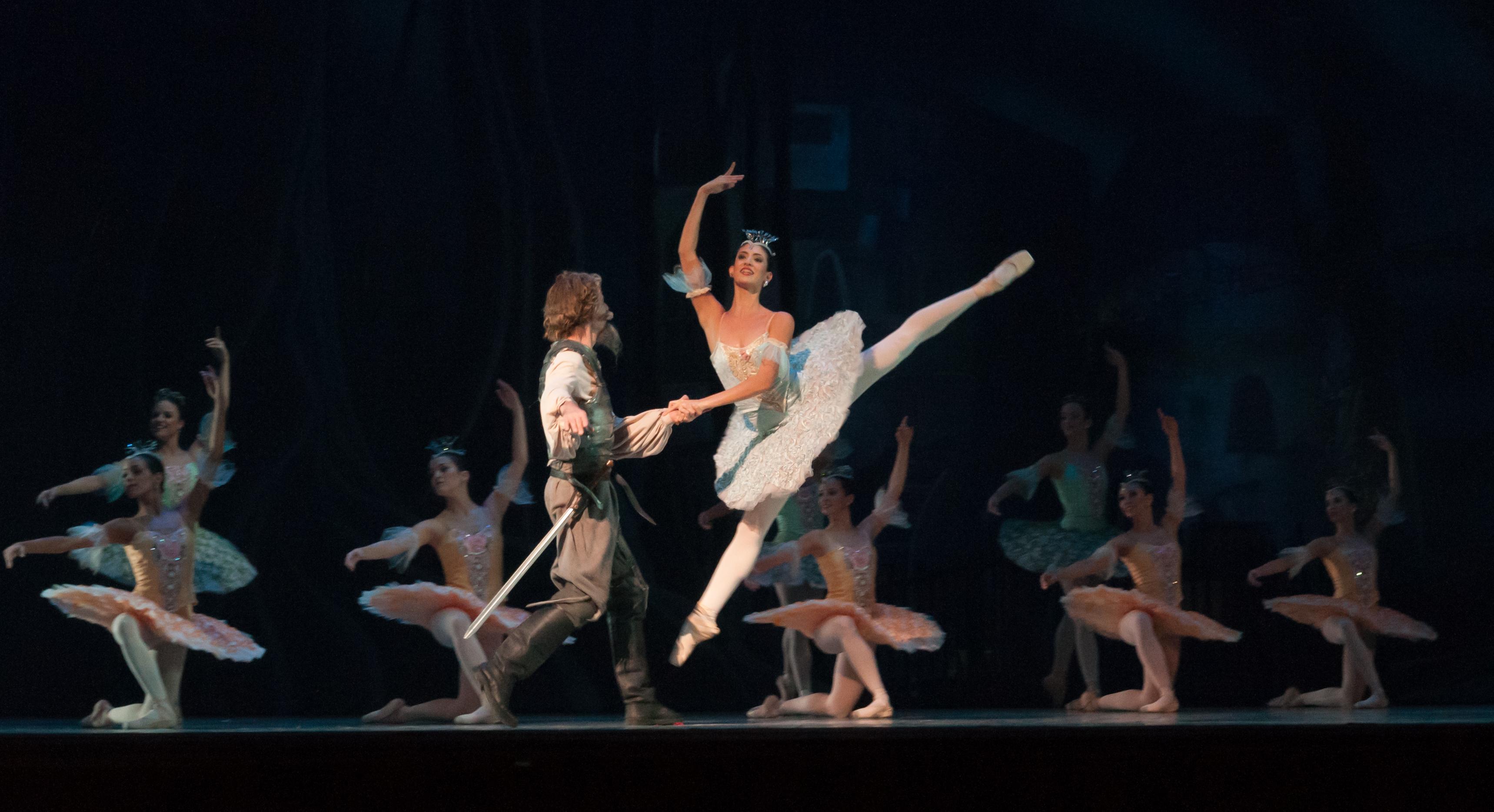 peso para ser bailarina de ballet