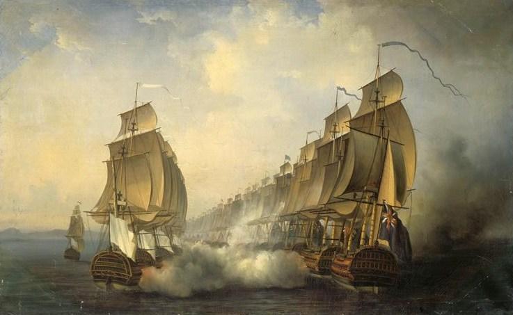 Bataille de Gondelour, 20 juin 1783, par A. Jugelet (Wikimedia)