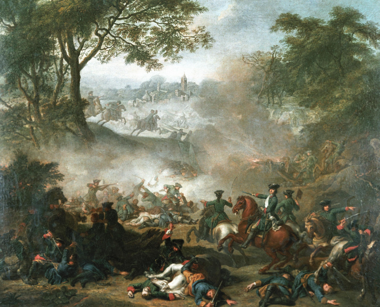 Depiction of Batalla de Lesnaya