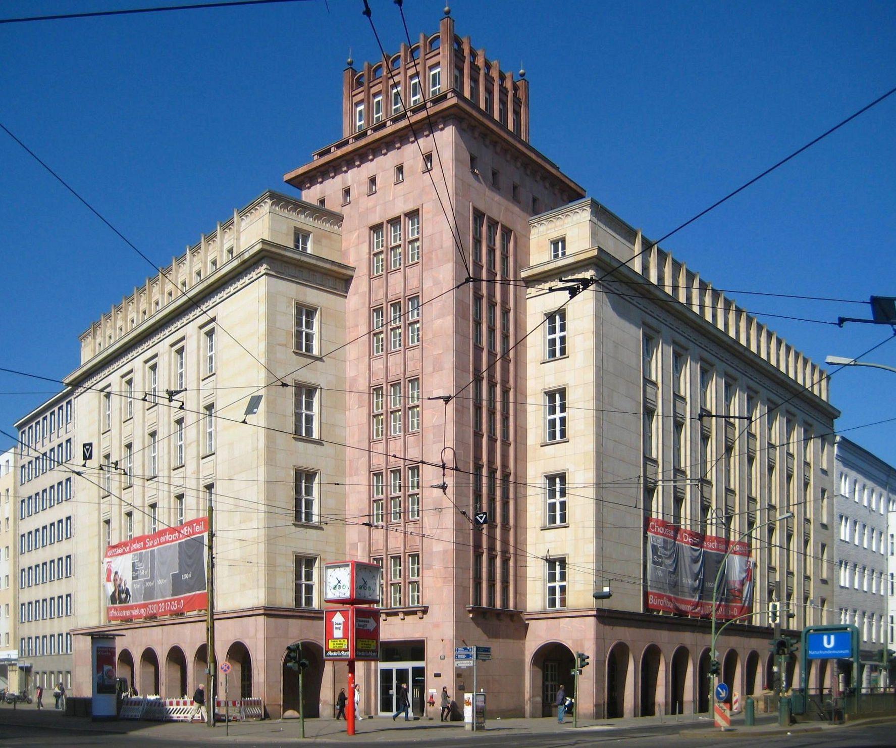 Chausseestraße Berlin Mitte