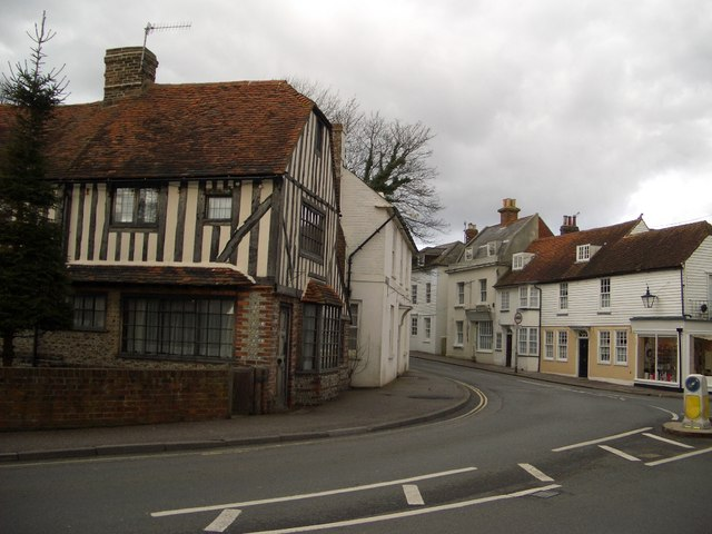 Bexhill Old Town - Looking Northwest - geograph.org.uk - 399966