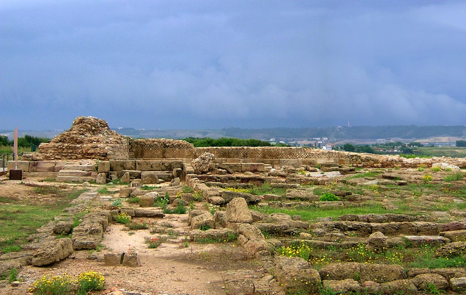 Area archeologica di capo colonna crotone q c arch for Immagini sito