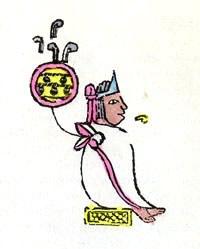 Depiction of Chimalpopoca