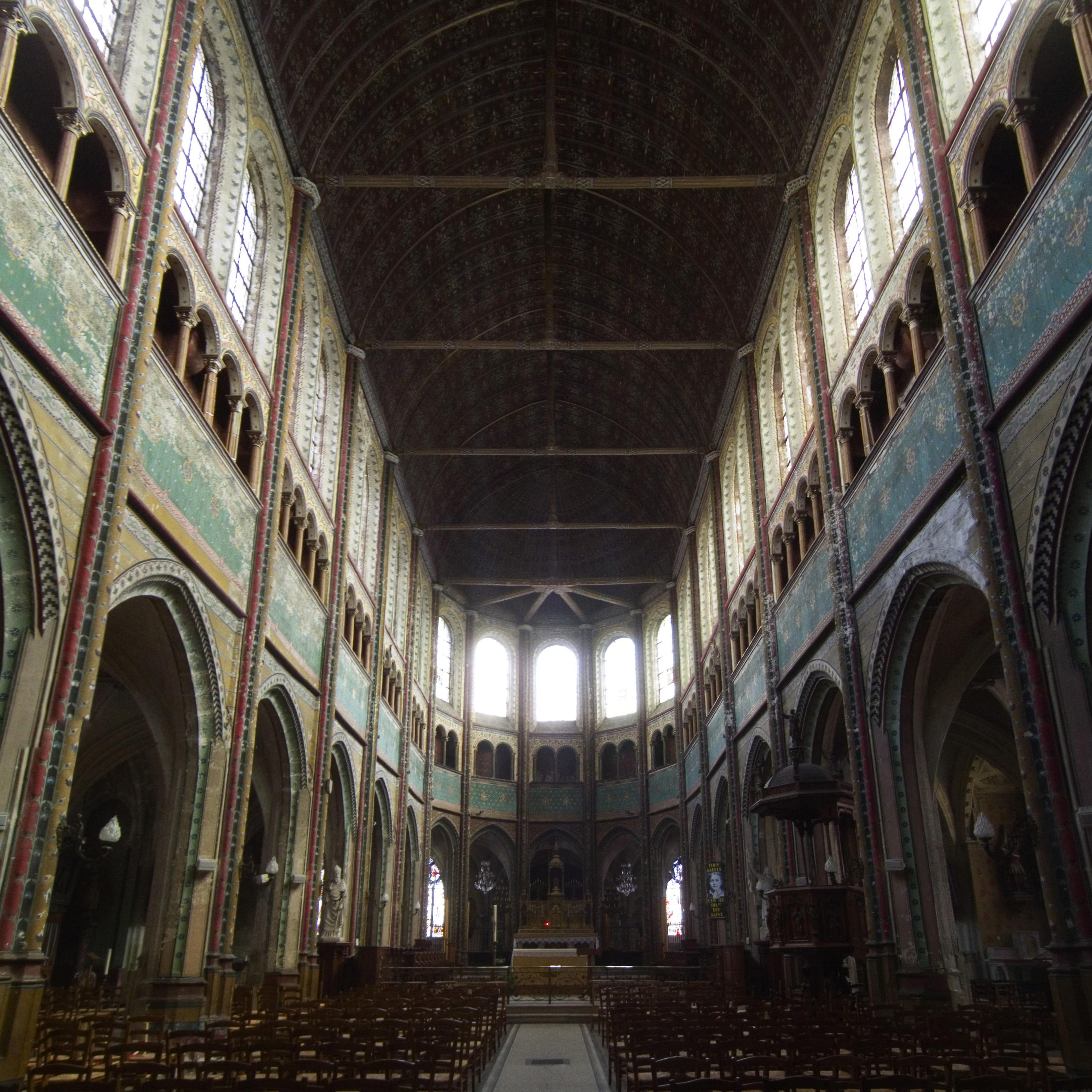 File chartres glise saint aignan interior - Saint maclou chartres ...