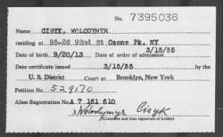 Us Naturalization Records Free