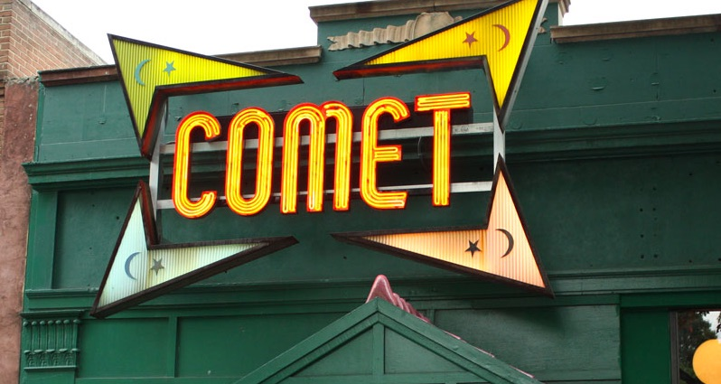 Image result for comet pizza