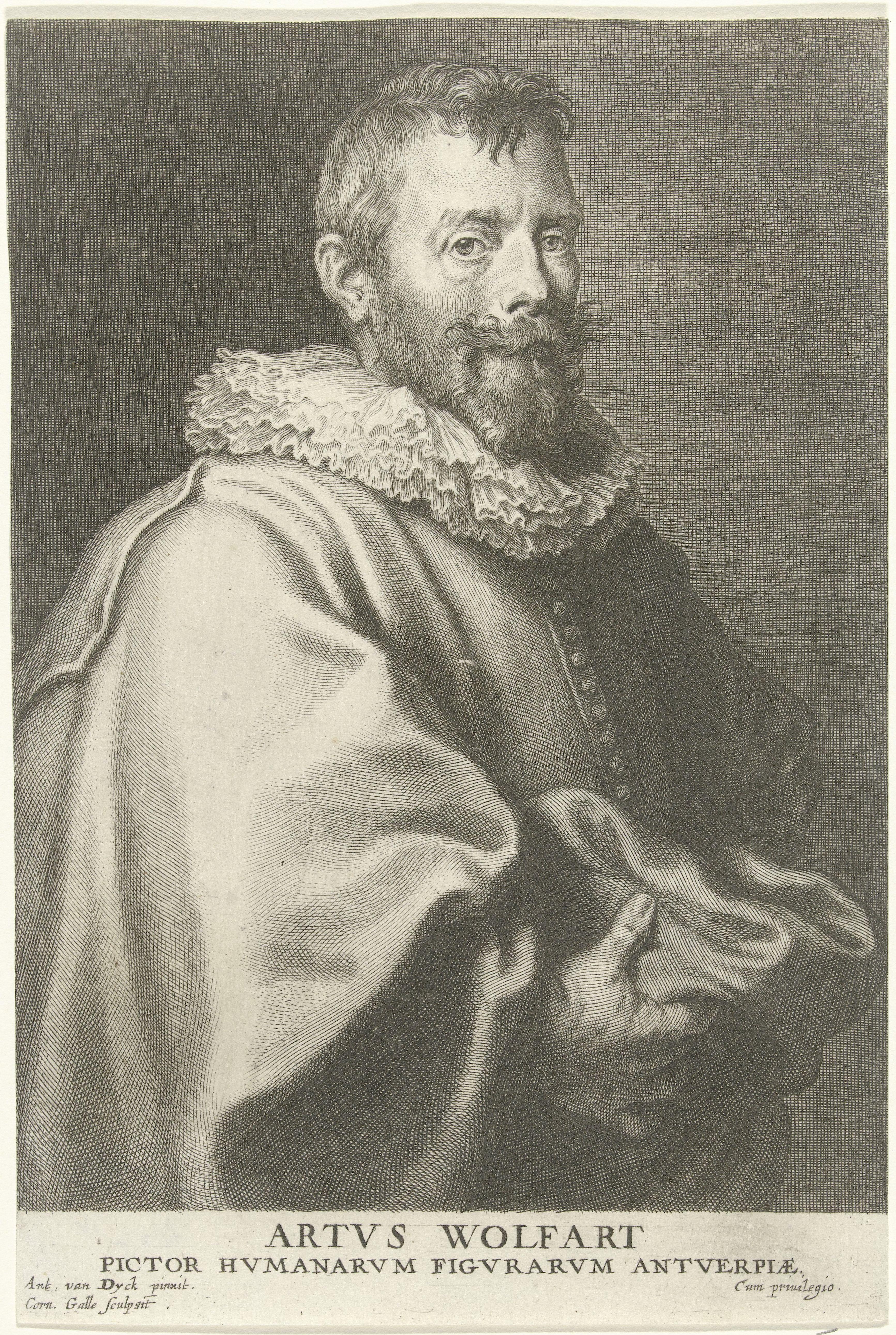 Corn Van Dijck.File Cornelis Galle I And Antony Van Dyck Portrait Of The