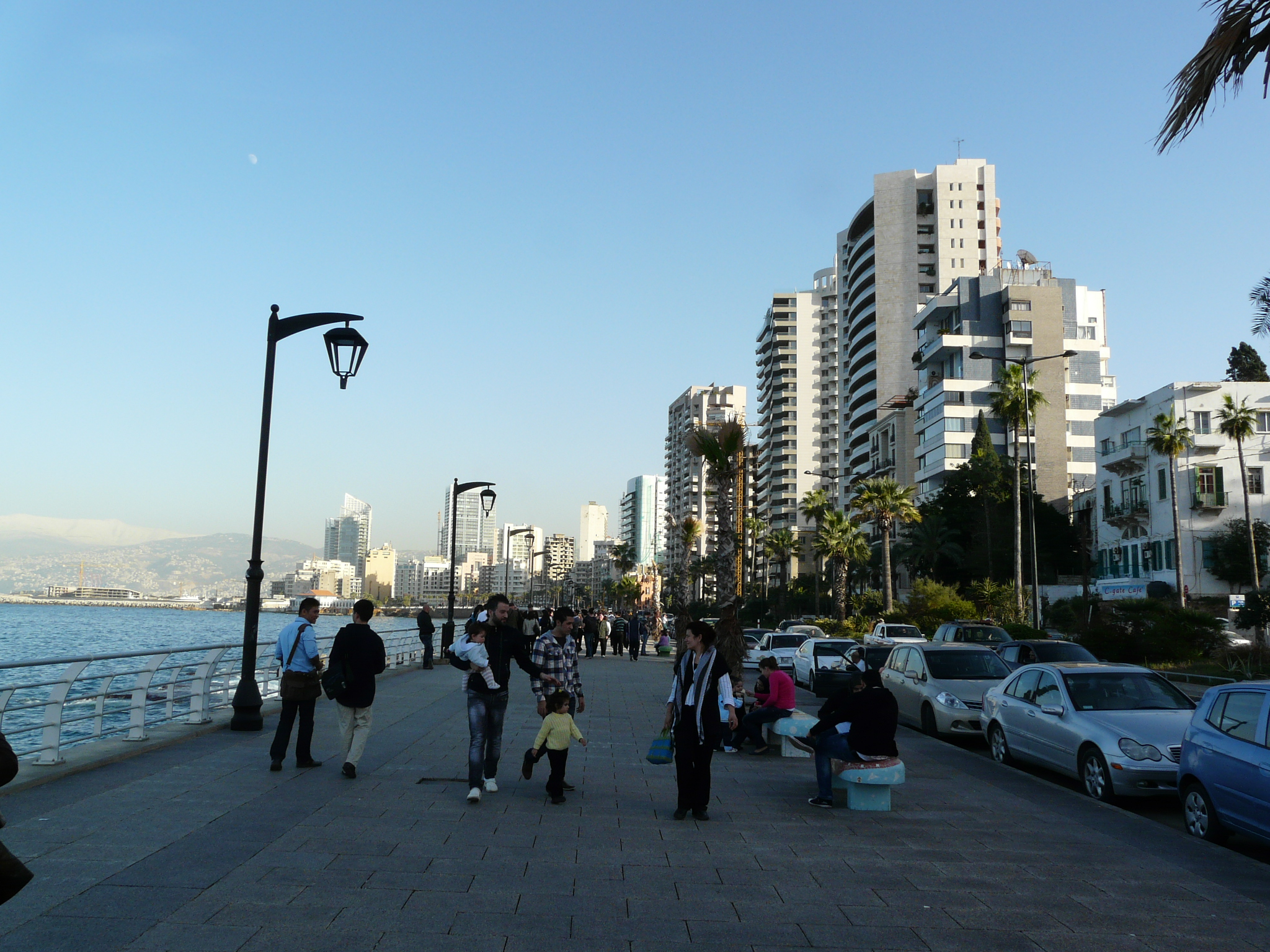 Beirut Lebanon  city pictures gallery : Corniche beirut Wikimedia Commons