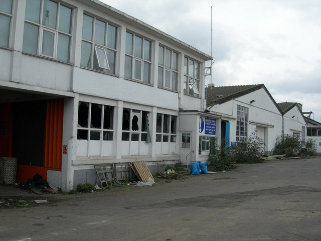 File:Derelict Factory, Priory Road, Strood (2) - geograph.org.uk - 714448.jpg
