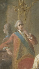 Detail of Louis Alexandre, Prince of Lamballe from a portrait by Jean-Baptiste Charpentier in circa 1767 held at Sceaux.png