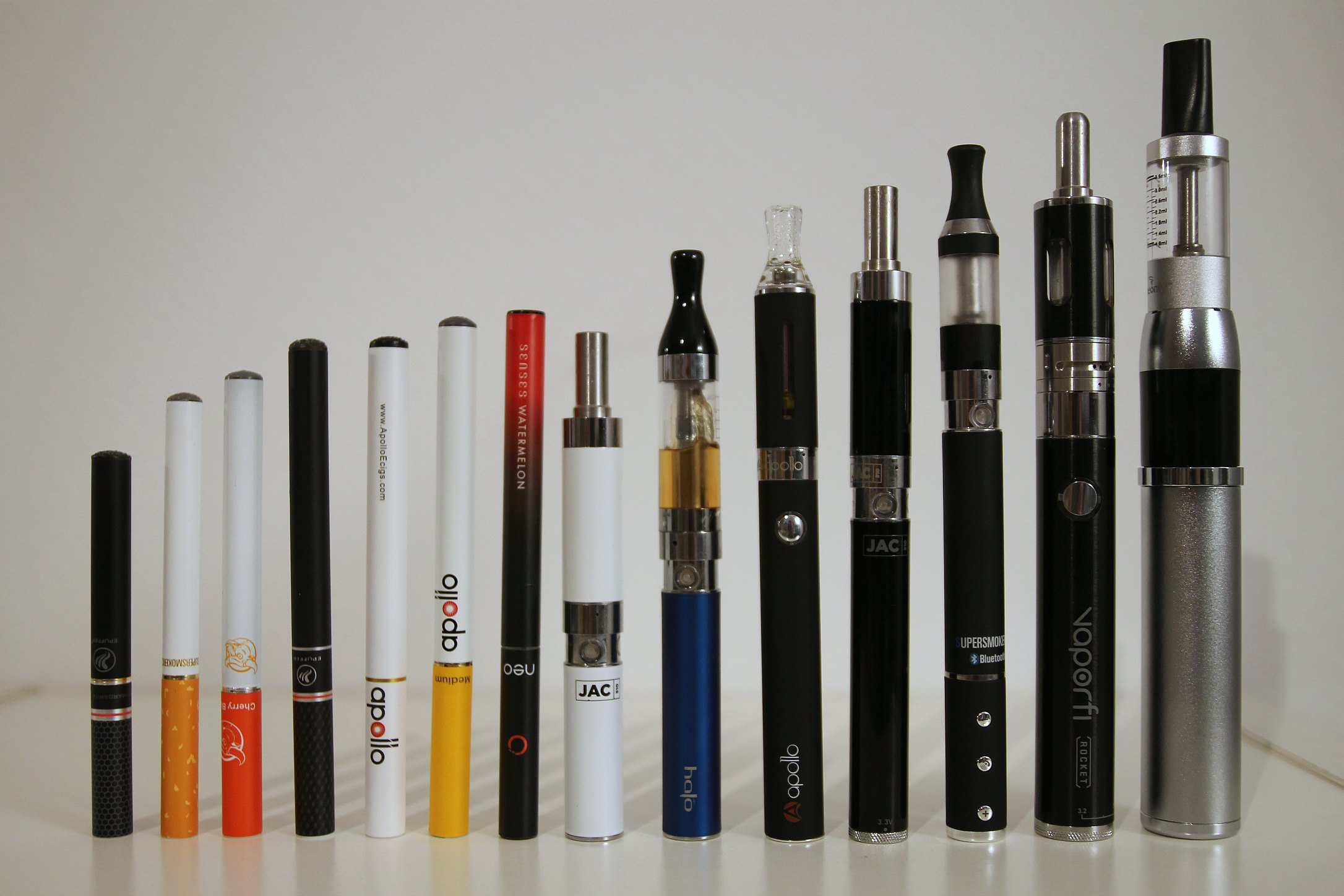 File:Different types of electronic cigarettes (15249922438).jpg - Wikimedia Commons commons.wikimedia.org2172 × 1448Search by image