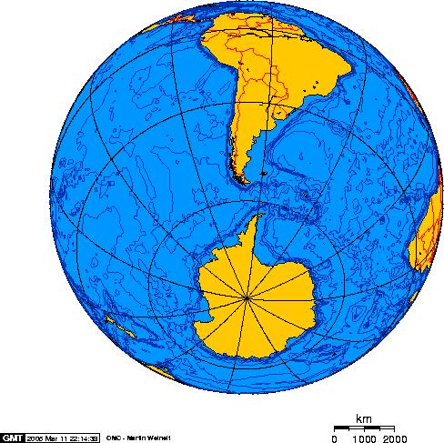 """الغواصات النووية الهجومية..للبحرية السوفييتية .""""الجزء الاول """" Drake_Passage_-_Orthographic_projection"""