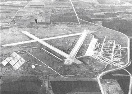 Abilene Army Airfield, mid-1940s. - Dyess Air Force Base