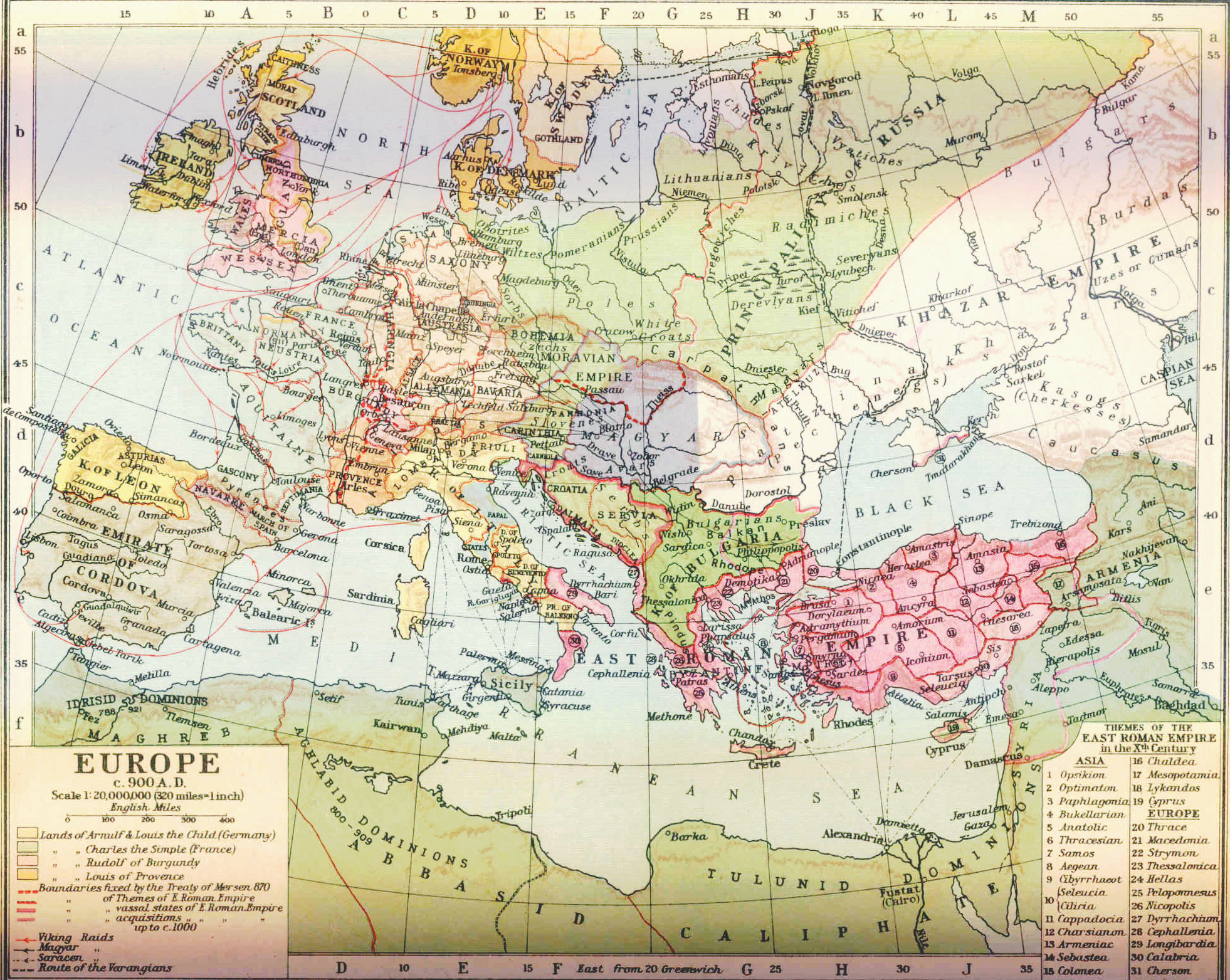 Europe Hungarian conquest of the Carpathian Basin