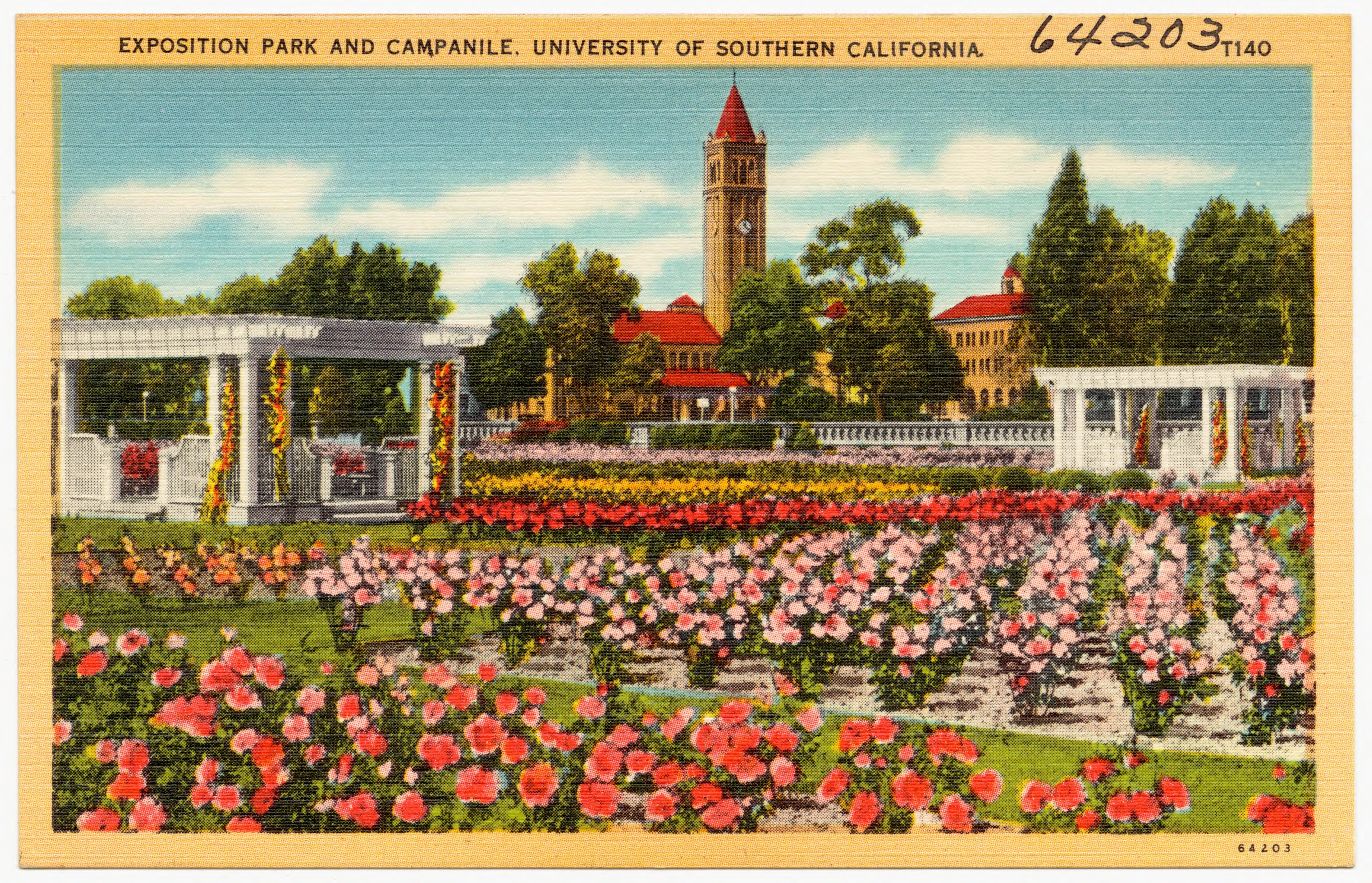File:Exposition Park and Campanile, University of Southern ...